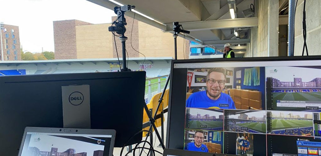 Opening night for AFC Wimbledon sets the future of remote production