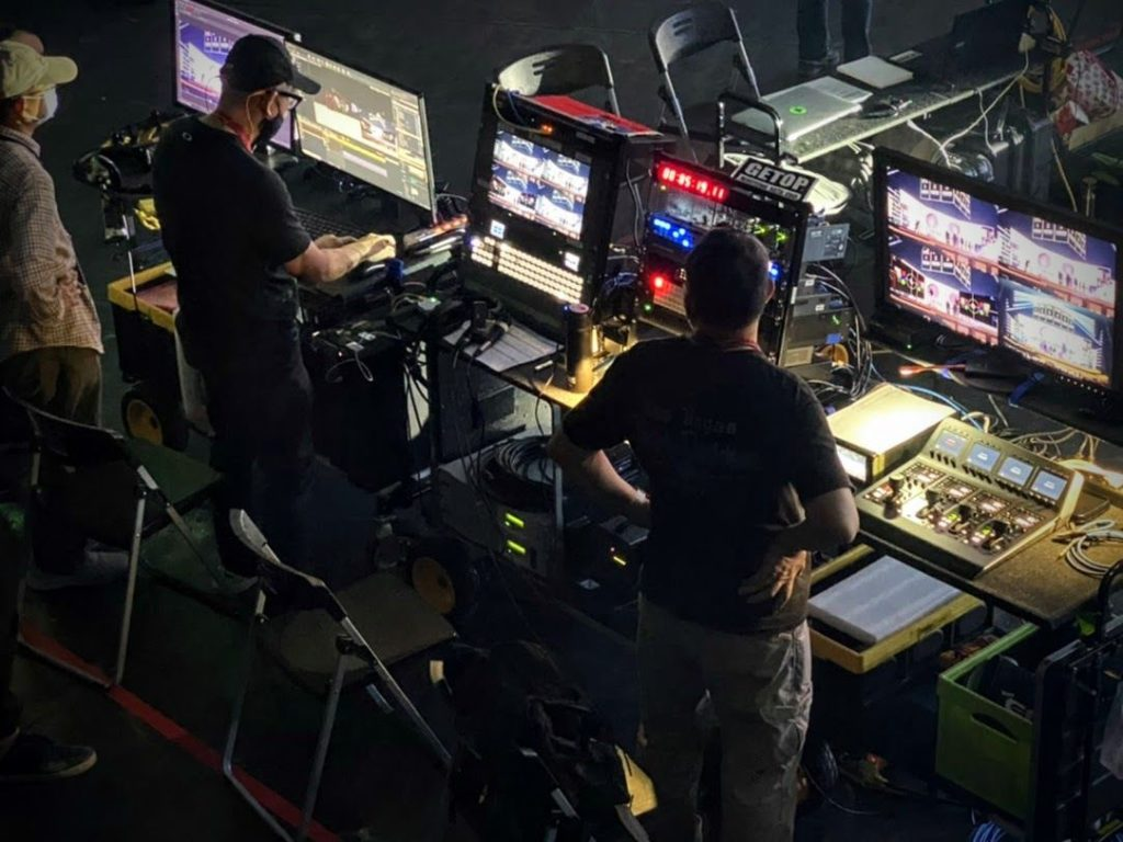 Technicians use AJA Gear to film Golden Melody Awards Production with Augmented Reality