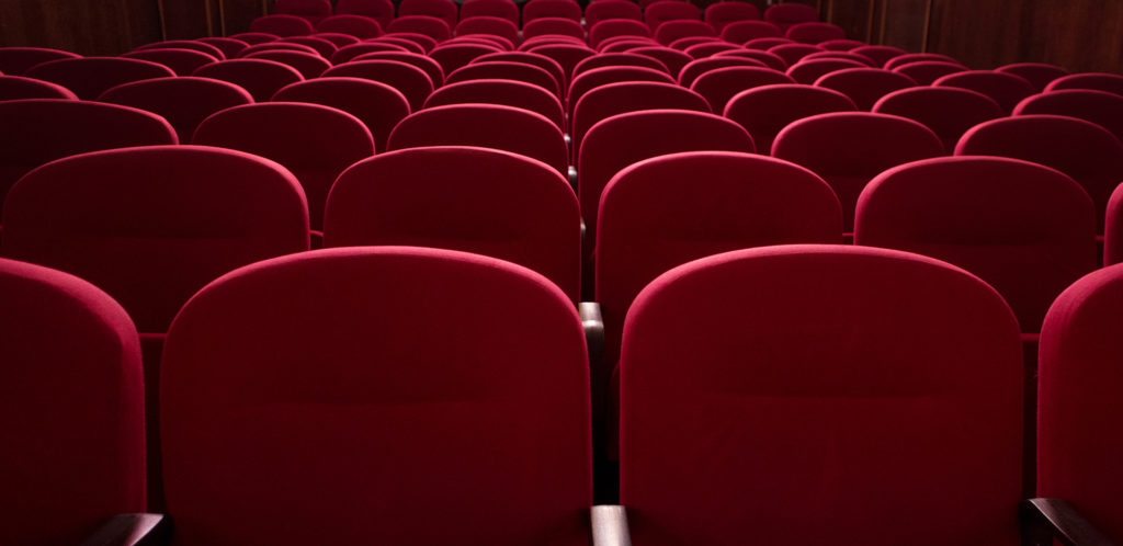 Empty Seats at Film Festival
