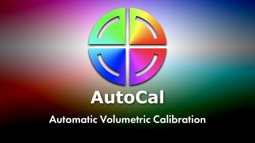 AutoCal Automatic Volumetric Calibration Logo