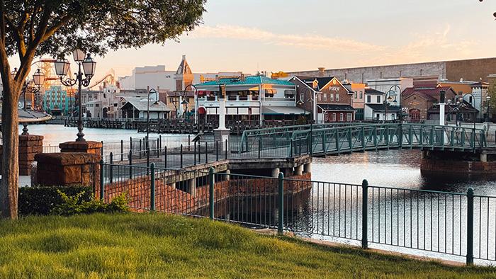 Universal Studios Florida Production Group Fisherman's Wharf location on the Backlot.
