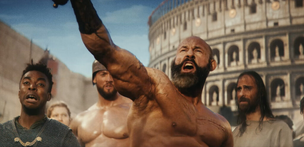 Gladiator School Spot Pays Homage to Blockbuster Film Genre To Introduce Jif