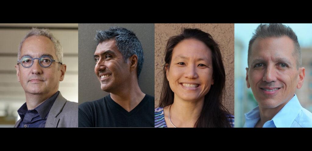 SMPTE Members Jim Helman Daniel, De La Rosa, Annie Chang, Greg Ciaccio