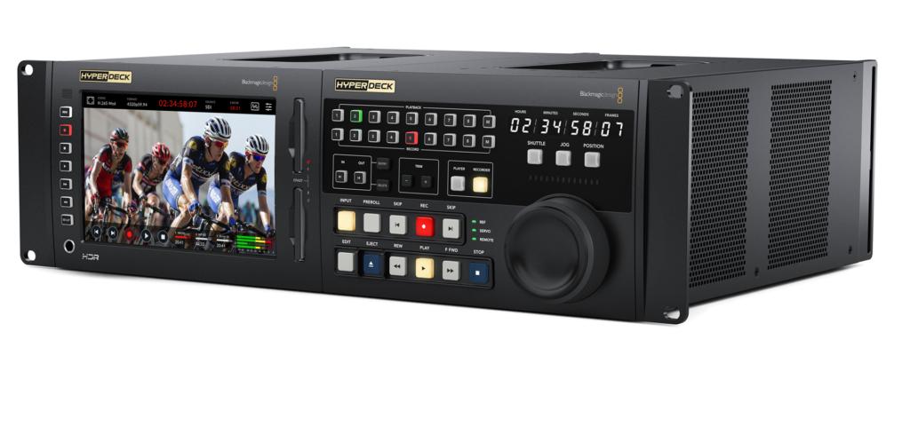 The Blackmagic Design HyperDeck Extreme 8K HDR