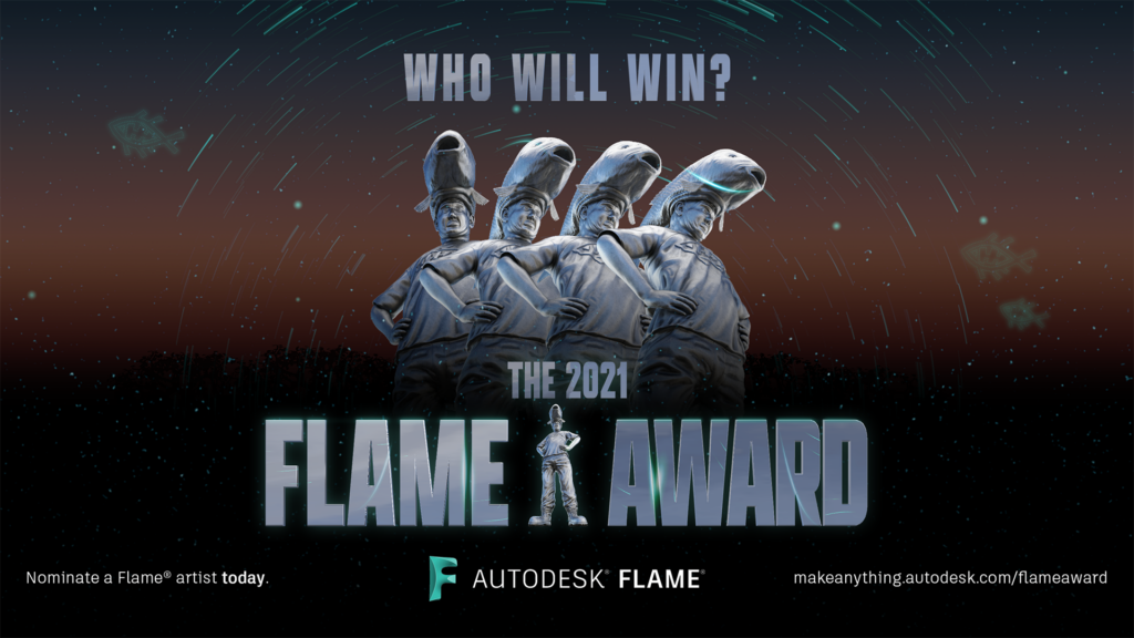 Autodesk Flame Awards Banner