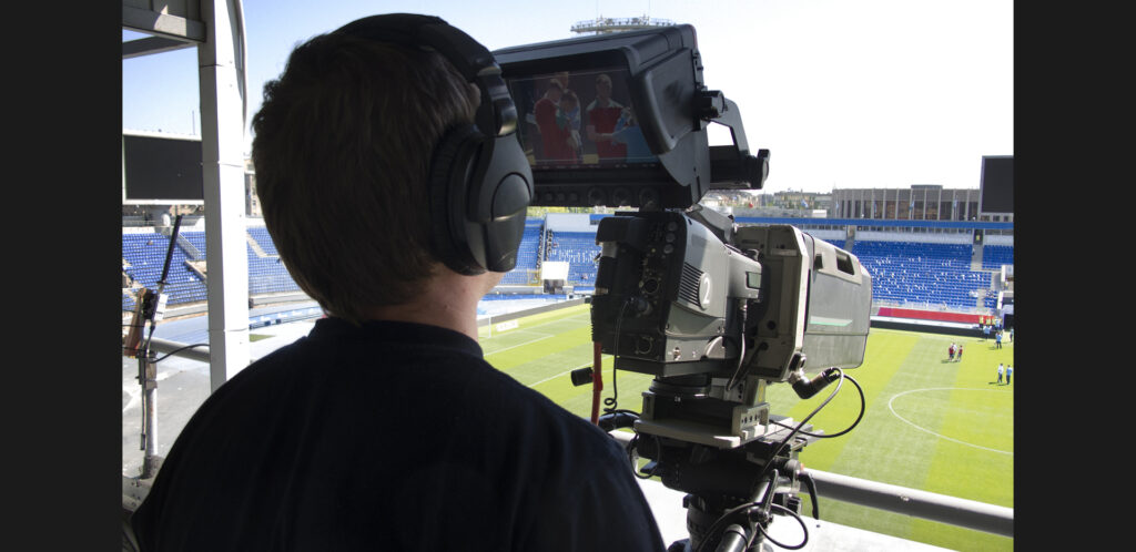 Sports Broadcasting Cameraman