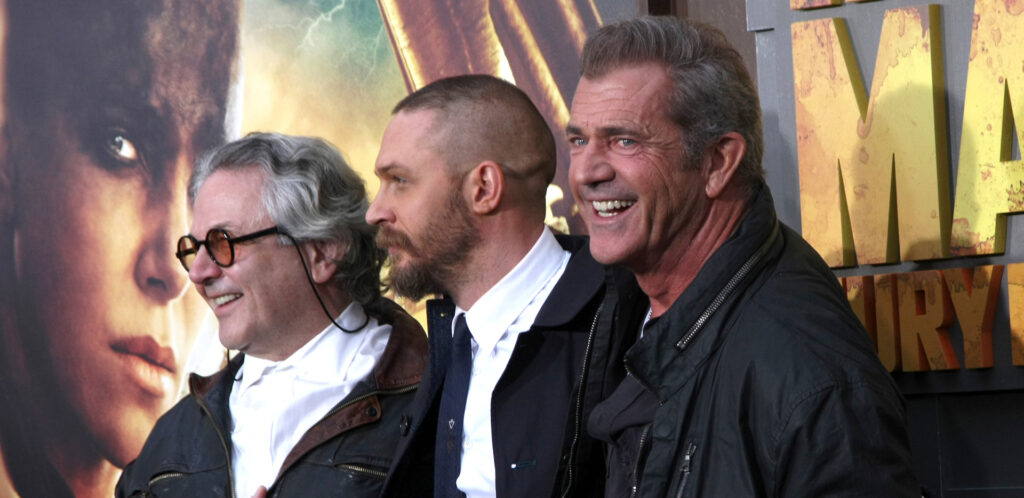 George Miller, Tom Hardy, Mel Gibson