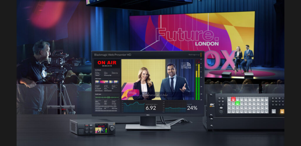 Blackmagic Web Presenter HD Hero