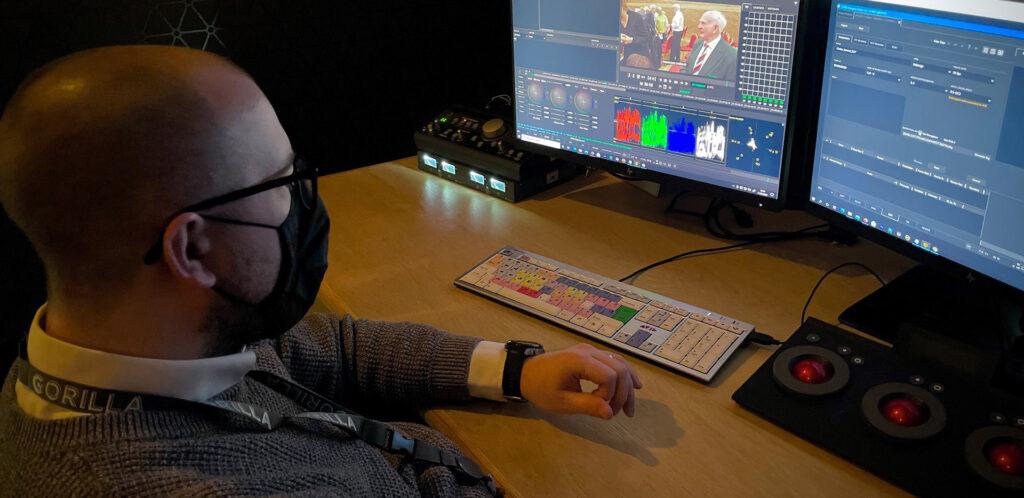 MTI Film Cortex in Gorillas new 4K HDR mastering suite