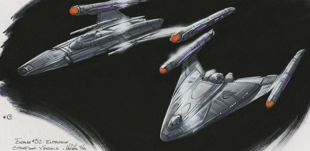 John Eaves Star Trek Art