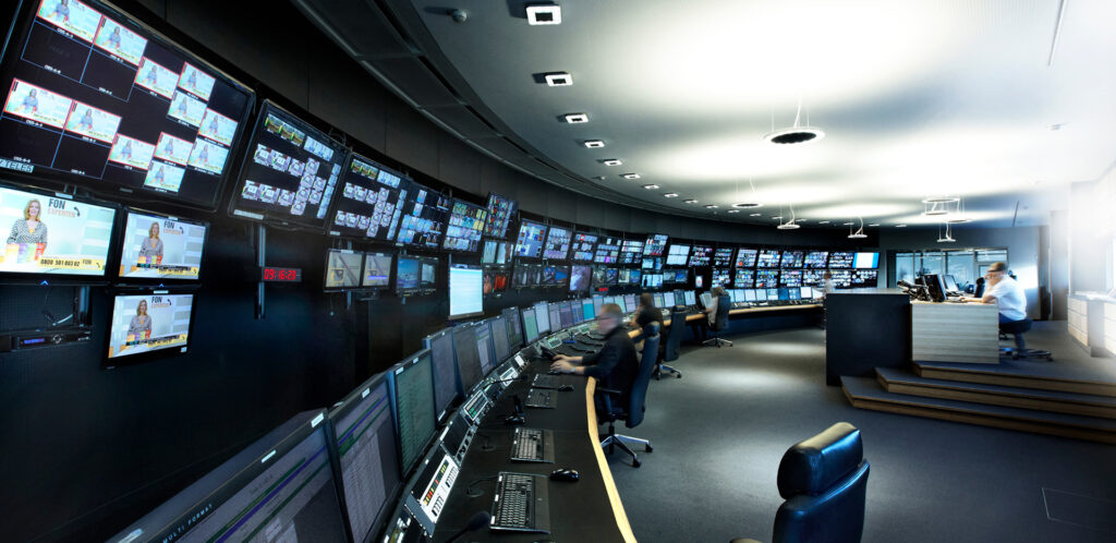 Telestream SES Munich Playout Center Unterfohring