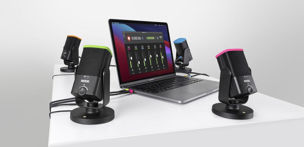 RODE CONNECT Insitu NT-USB Mini Macbook darkmode