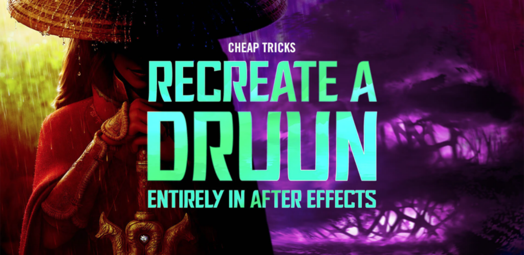 Recreate a Druun Entirely in After Effects