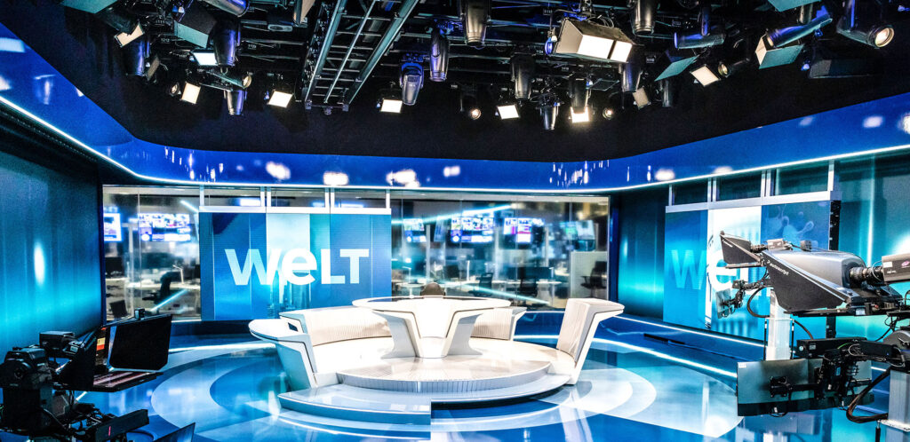 ARRI Das neue WELT-Nachrichtenstudio im Axel-Springer-Neubau