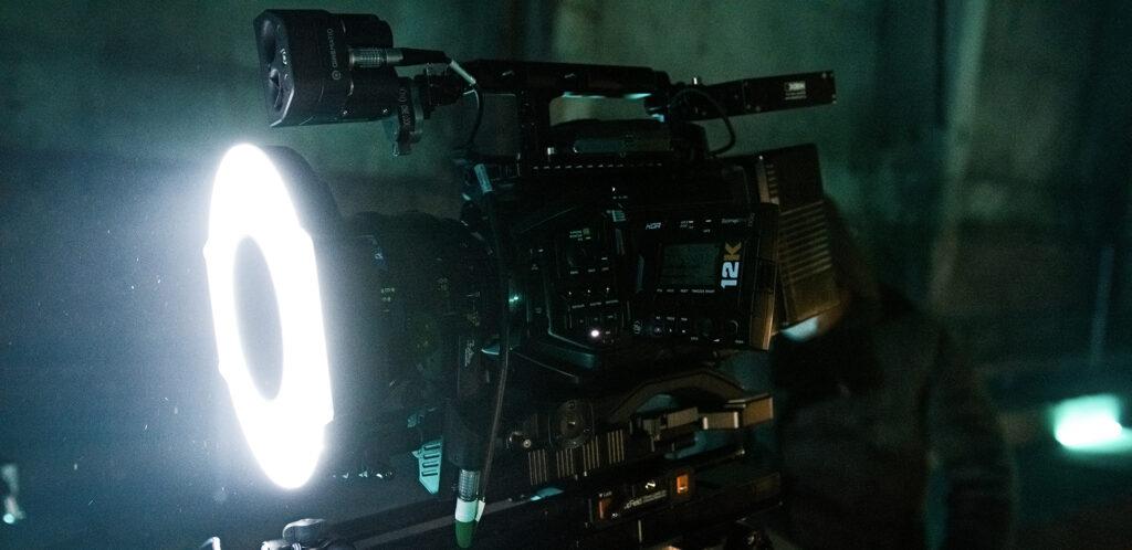 URSA Mini Pro 12K Filming Sky Comedy