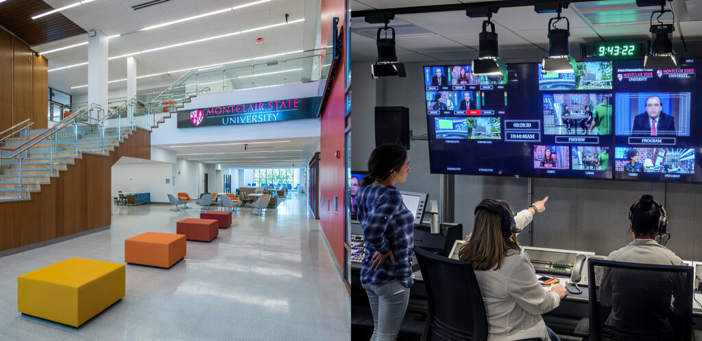 Broadcast and Media Operations College of the Arts, Montclair State University
