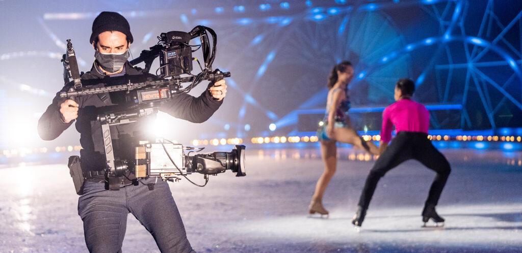 Ice Skating Cameraman