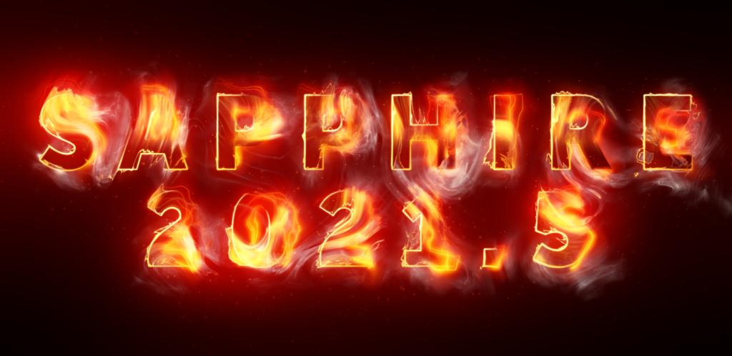 Sapphire 2021.5