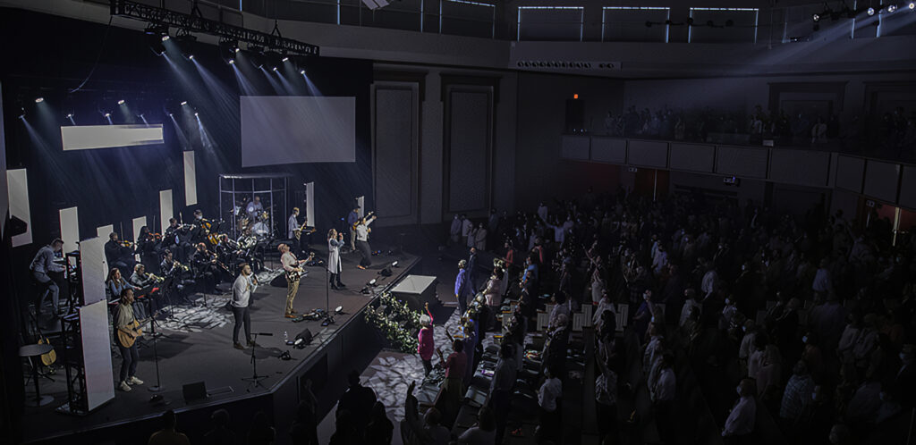 CCC Live Streams Worship Services