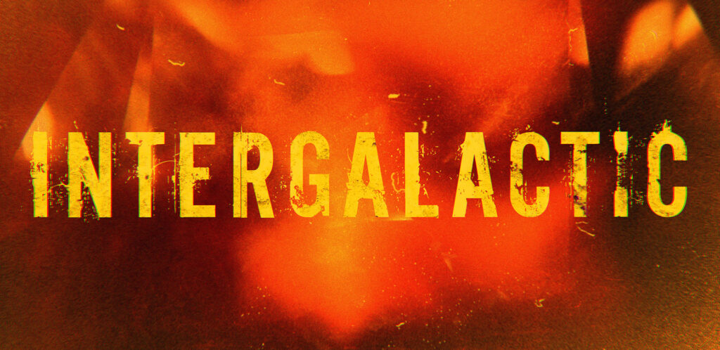 Framestore design logo and titles for Intergalatic