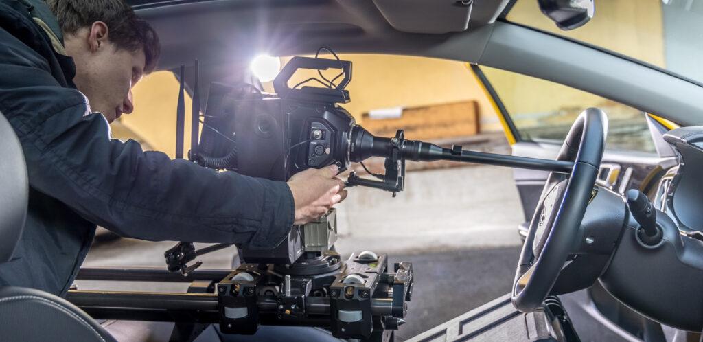 New KIA Xceed Commercial Shot with the URSA Mini Pro 12K