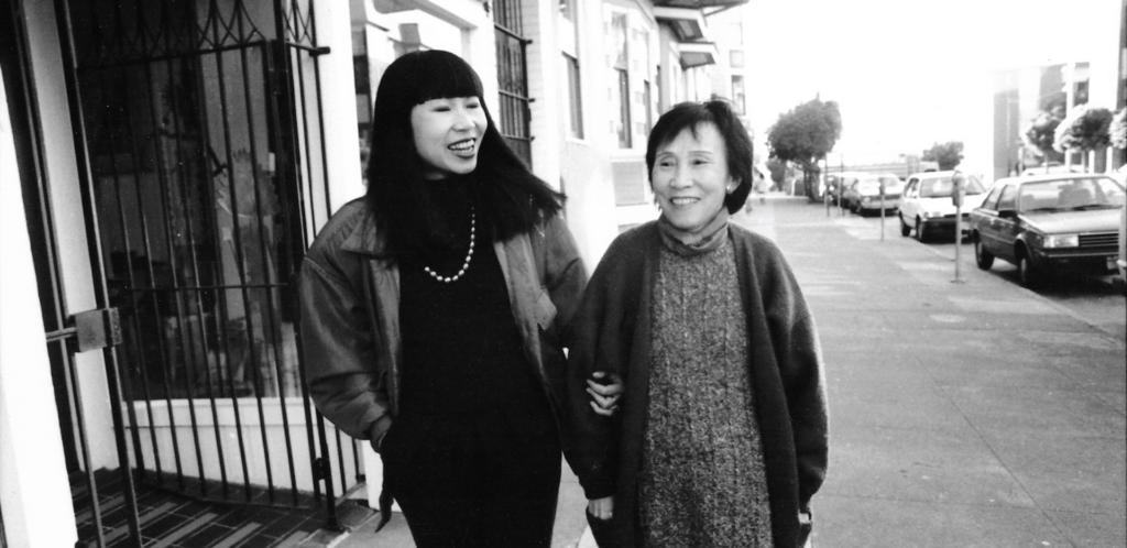 Amy Tan and her mother Daisy Tan ATUM Film Still Courtesy Jim McHugh