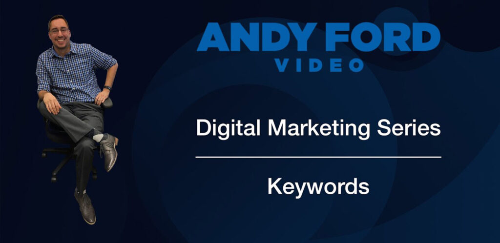 Andy Ford Marketing Video Tutorial