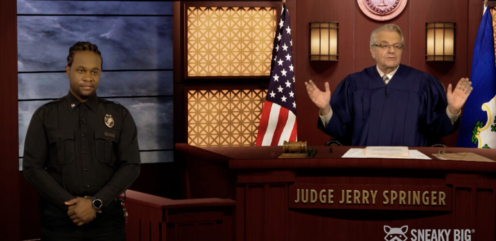 SNEAKY BIG Partners With Blackmagic Design to Virtually Produce Judge Jerry