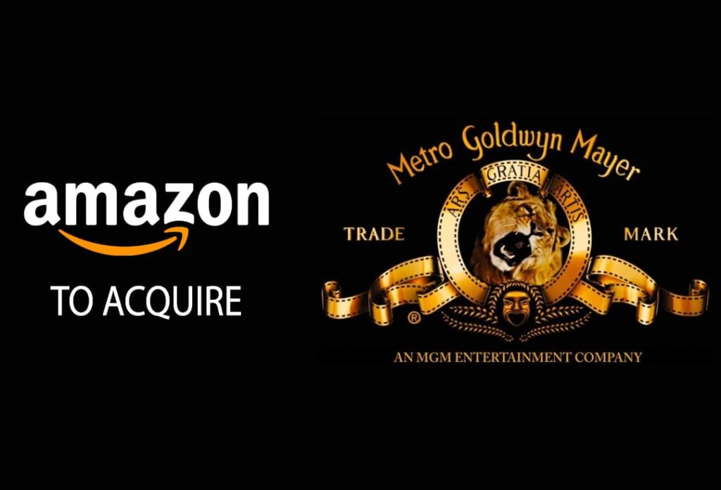 Amazon to acquire MGM