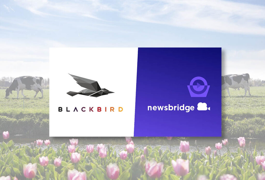 Blackbird and Newsbridge partner for end-to-end cloud video management and production