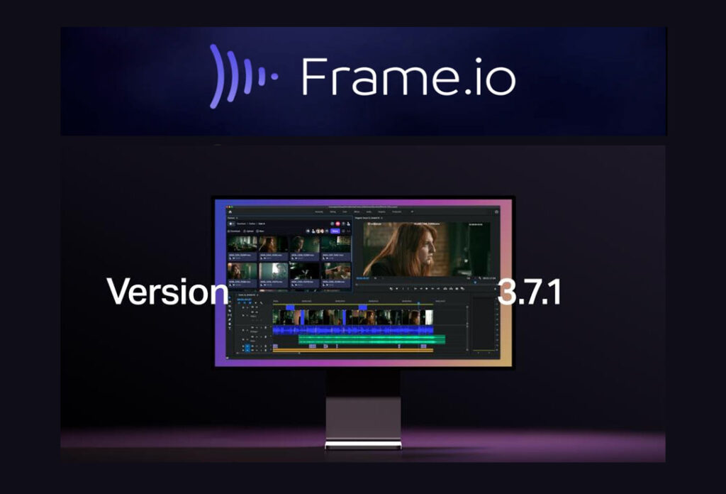 frame.io version 3.7.1