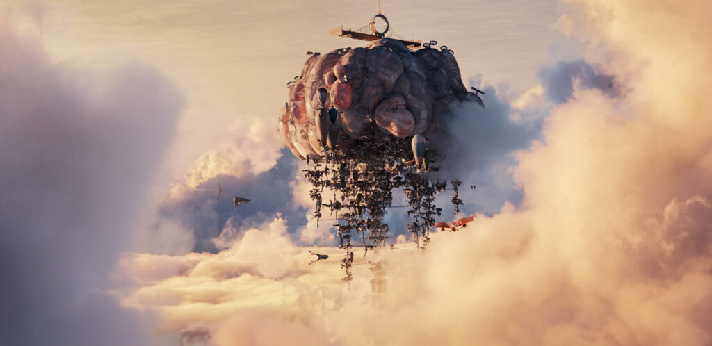 Airhaven from Mortal Engines © 2018 Universal Studios