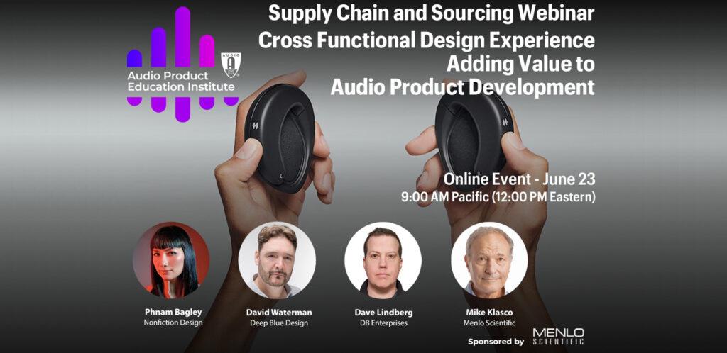 Audio Product Education Institute Webinar