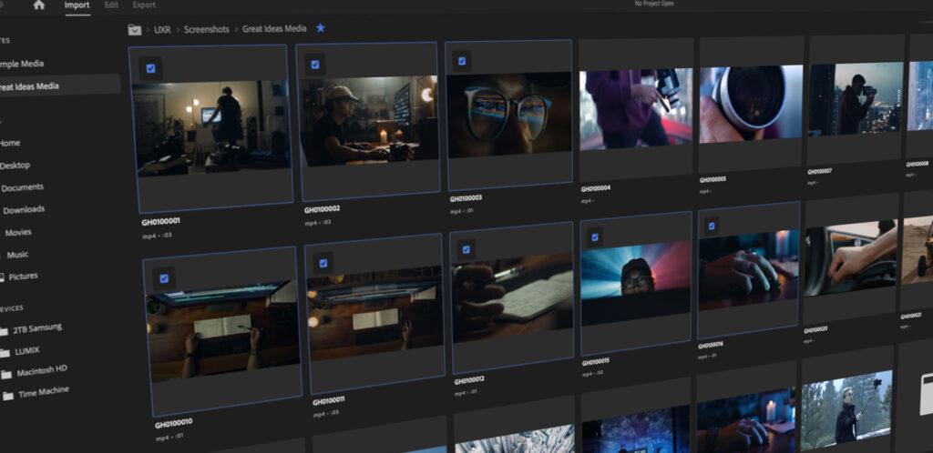 New in Premiere Pro Beta