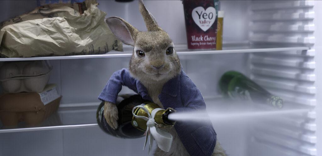 Peter Rabbit (James Corden) in Columbia Pictures' PETER RABBIT™ 2.