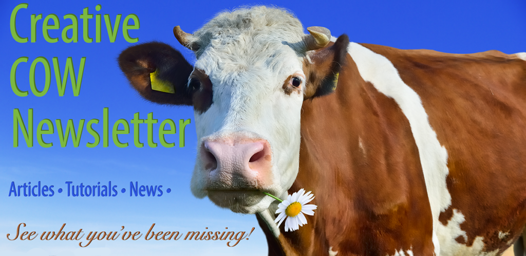 Sign up for the Creative COW Newsletter!