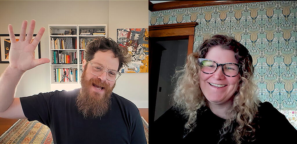 Erin Sarofsky and Austin Shaw Launch Between the Keyframes Vidcast