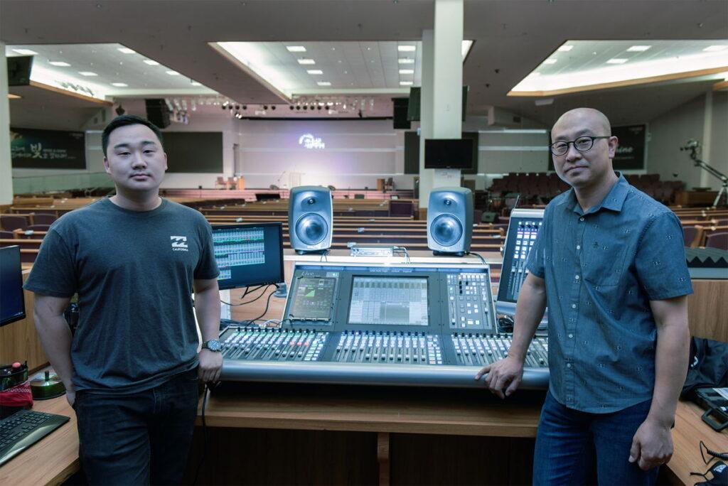 Solid State Logic and Sa-Rang Church Broadcast