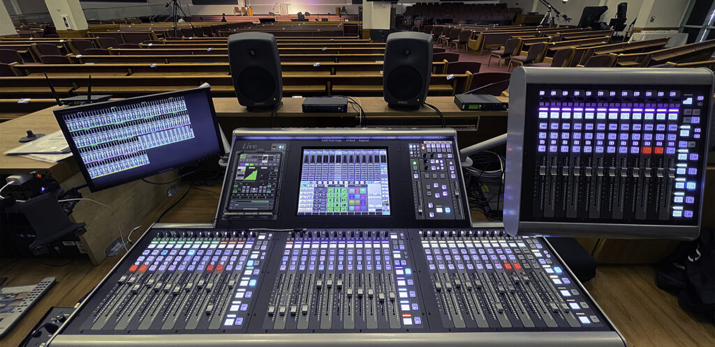 Sa-Rang Community Church with Solid State Logic Live L200 Console Integration