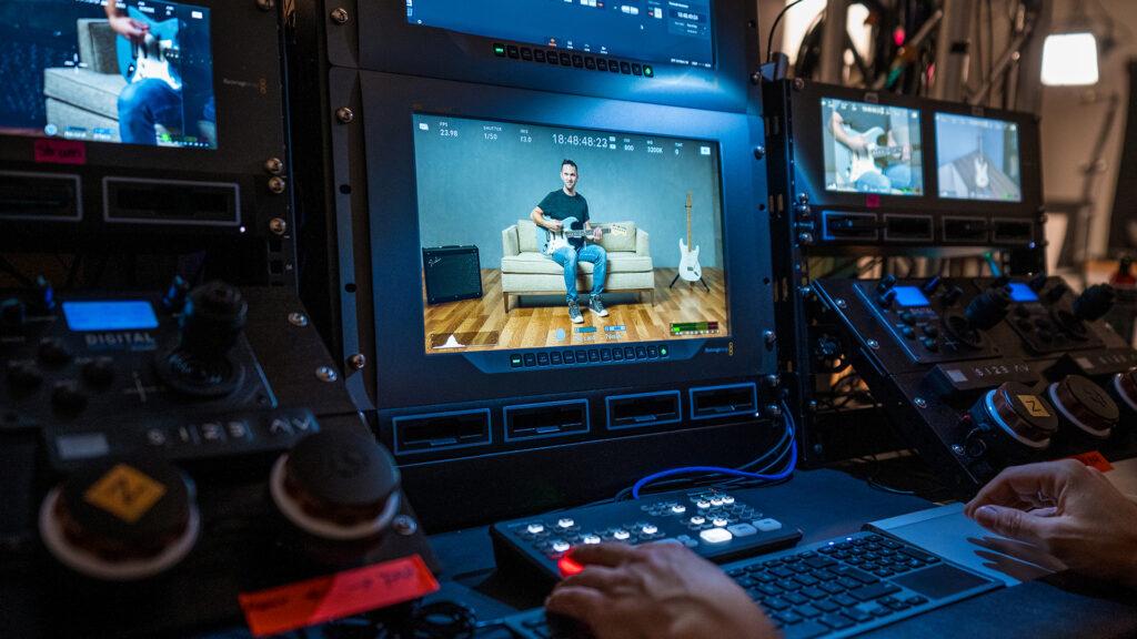 Fender Implements Pocket Cinema Camera 6K and ATEM Mini Pro
