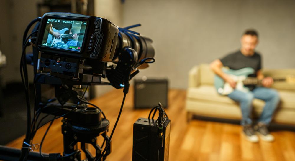 Fender Implements Pocket Cinema Camera 6K and ATEM Mini Pro in New Hollywood Studio
