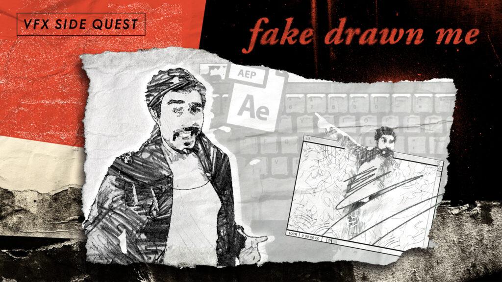 Fake Drawn Me Tutorial