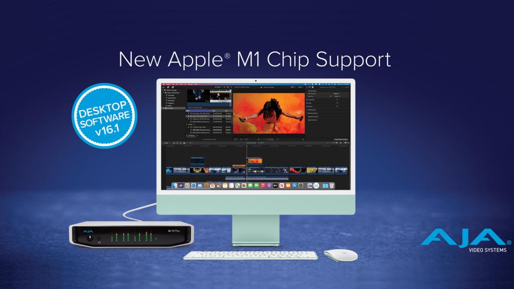 AJA Desktop Software v16.1 iMac M1 PR19