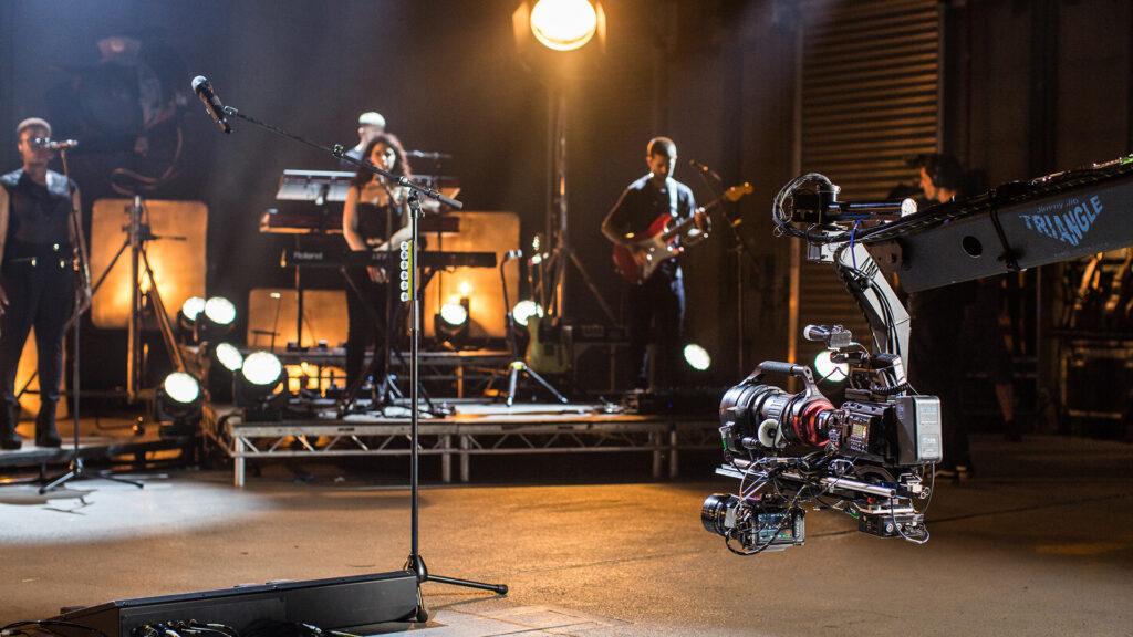 Ed Sheeran's Headline Performance for Virtual Music Festivals Shot with URSA Mini Pro 12K