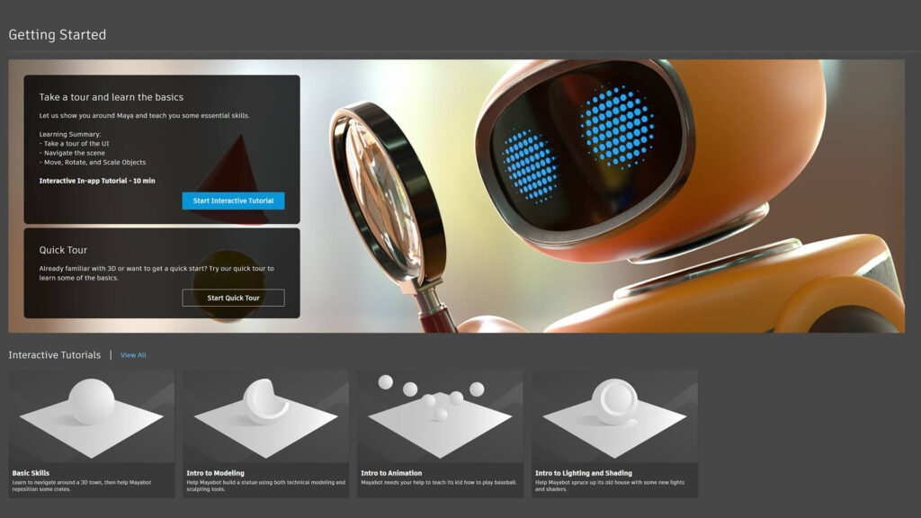 Autodesk Maya Redesigns User Experience for New and Returning 3D Artists