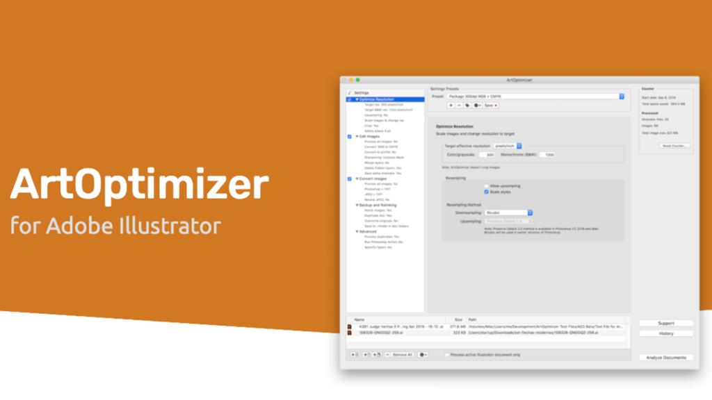 ArtOptimizer for Adobe Illustrator