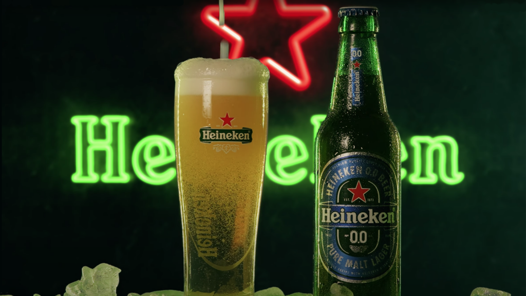 Sean Alami Beer Commercial with CGI Background Video Tutorial