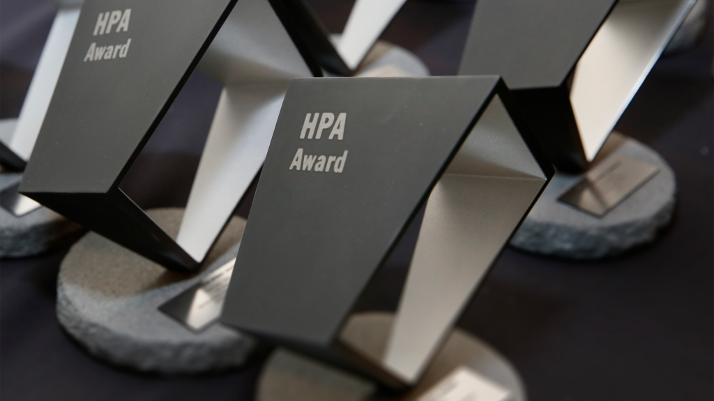 HPA Awards Trophies