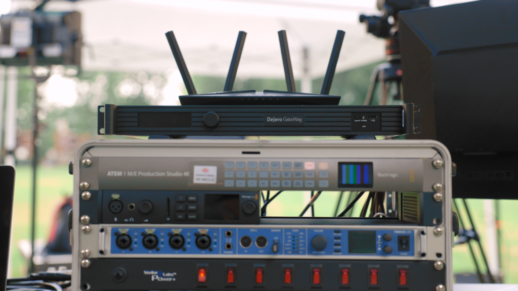 Scratch Takes deployed a Dejero GateWay M6E6 network aggregation device featuring Dejero's Smart Blending Technology for the live streaming of a new world record attempt during the 45th annual Montreal Highland Games
