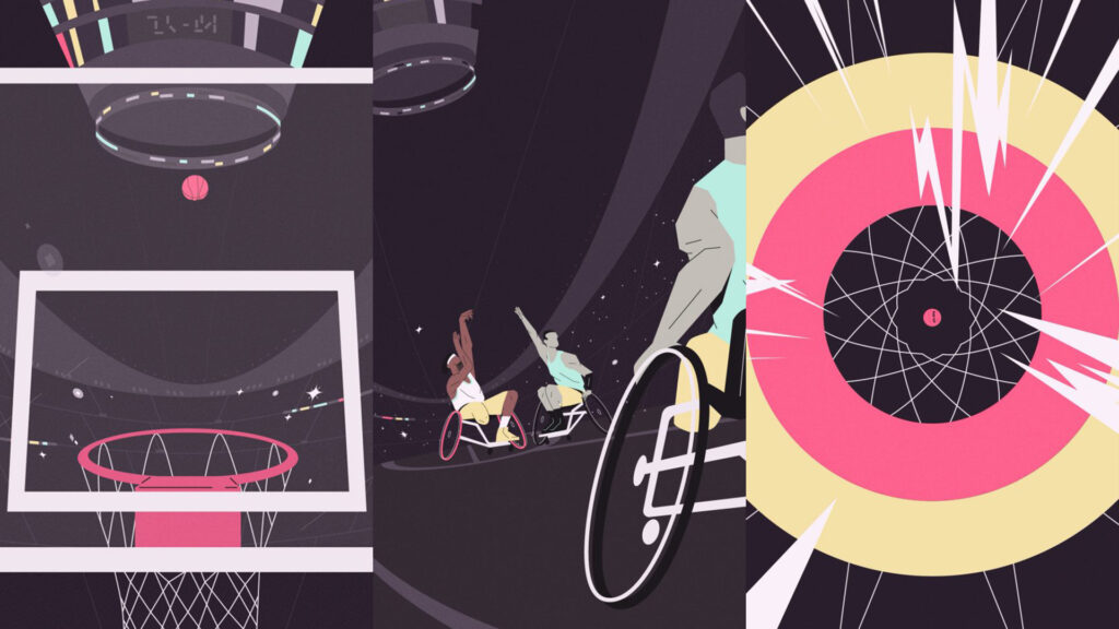 BIEN animates Paralympic athletes